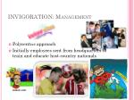 invigoration management