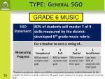 type general sgo1