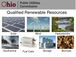 qualified renewable resources