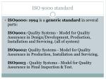 iso 9000 standard