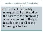 quality manager job description1