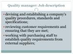 quality manager job description2