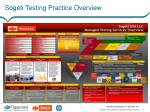 sogeti testing practice overview