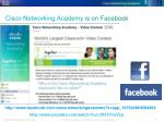 cisco networking academy is on facebook1