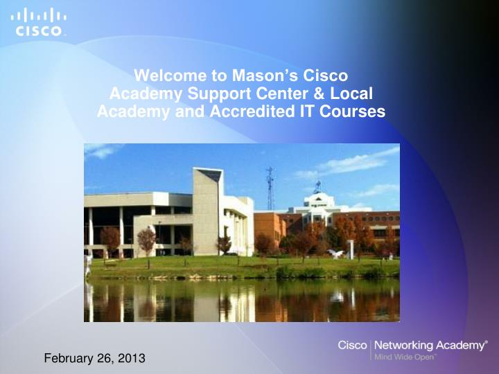 welcome to mason s cisco academy support center local academy and accredited it courses n.