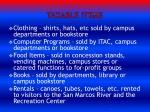 taxable items