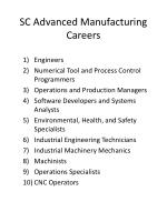 sc advanced manufacturing careers