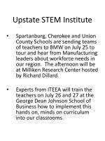 upstate stem institute