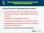 grant contract management system