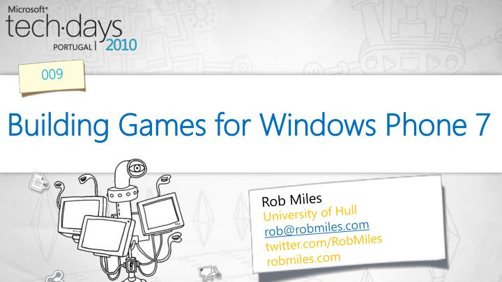 building games for windows phone 7 n.