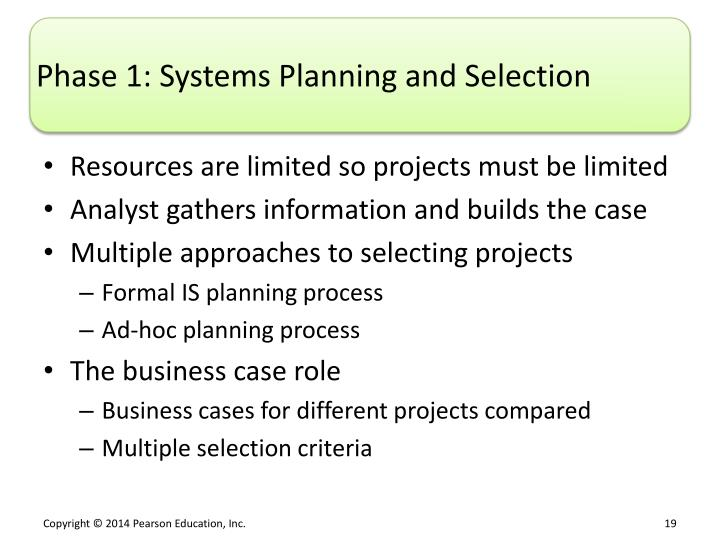 systems planning and selection Enterprise resource planning (erp) systems are a valuable tool for any organization, and they can have an impact on every single part of your business.