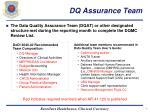 dq assurance team1