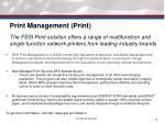 print management print