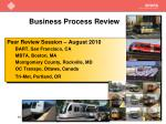 business process review3