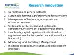 research innovation