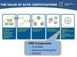 the value of scte certifications