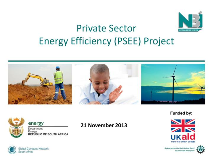 private sector energy efficiency psee project n.