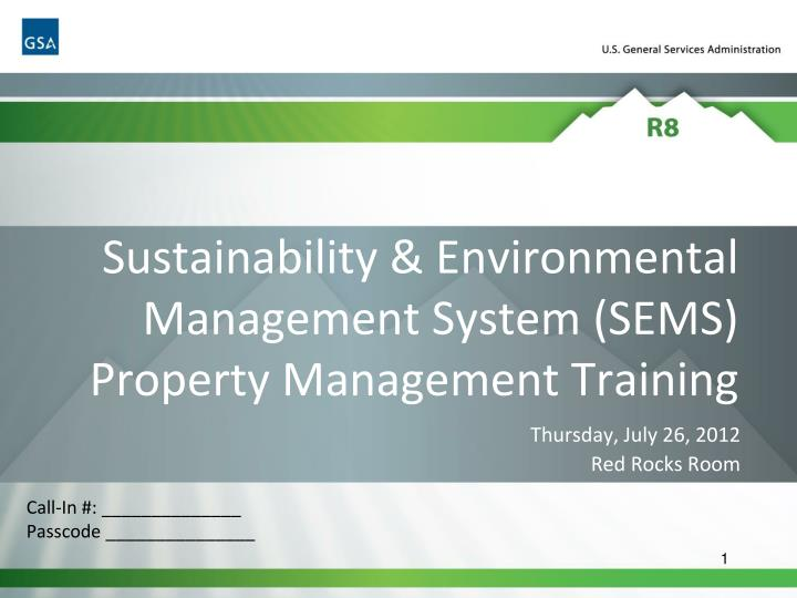 sustainability environmental management system sems property management training n.