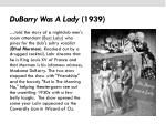 dubarry was a lady 1939