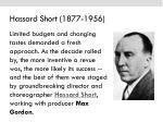 hassard short 1877 1956
