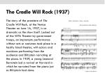 the cradle will rock 19371