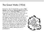 the great waltz 1934