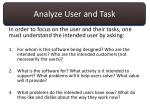 analyze user and task2
