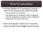 strive for naturalness1