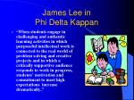 james lee in phi delta kappan