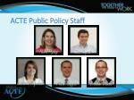 acte public policy staff