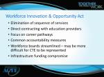 workforce innovation opportunity act