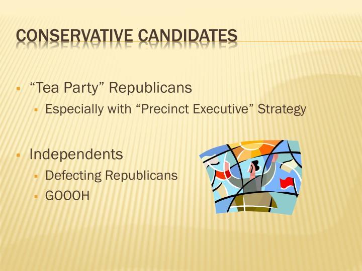 """""""Tea Party"""" Republicans"""