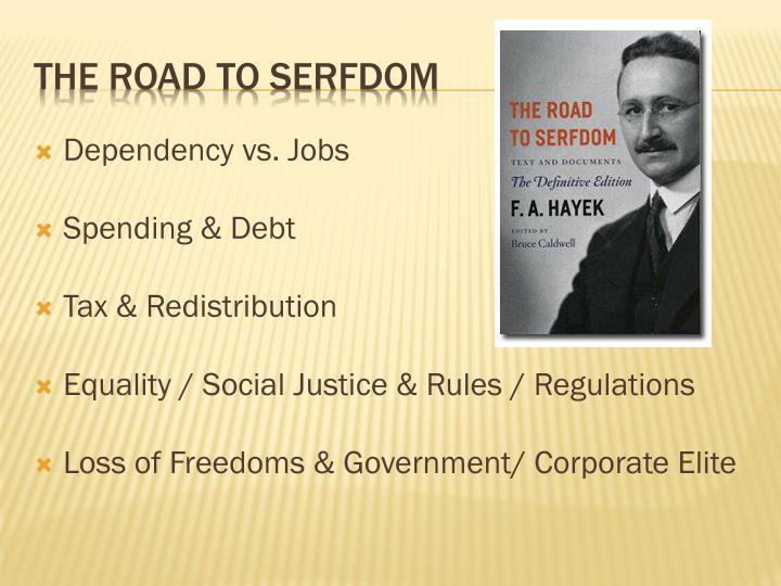 Dependency vs. Jobs