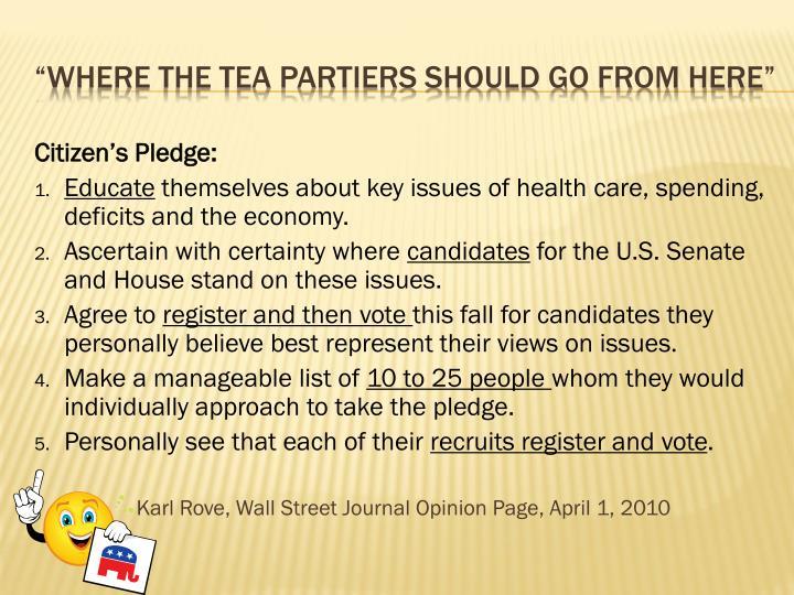 Citizen's Pledge:
