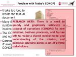 problem with today s conops1