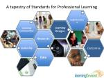 a tapestry of standards for professional l earning