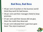 bad boss bad boss