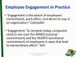 employee engagement in practice1