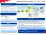 dashboard solution for cat usa