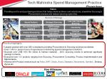 tech mahindra spend management practice overview