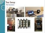test setup2