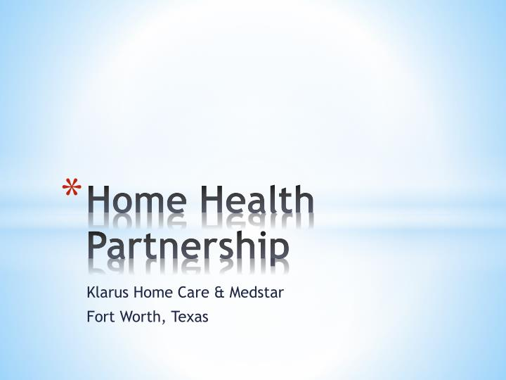 home health partnership n.