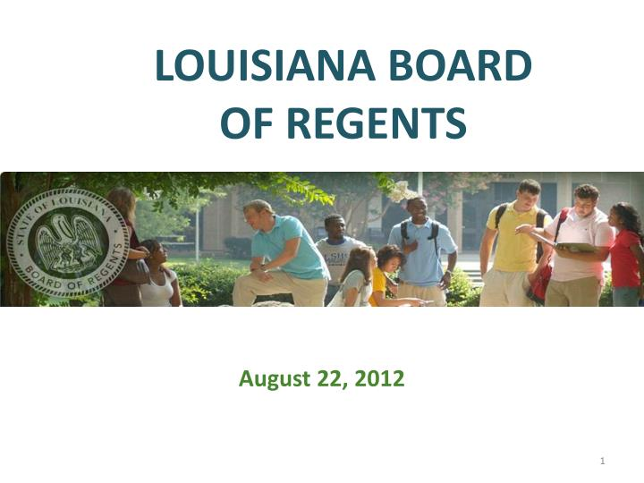 LOUISIANA BOARD