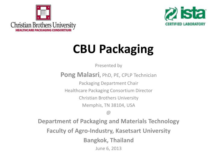 cbu packaging n.