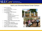 saint louis university medical center campus