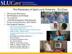 the physicians of saint louis university slu care