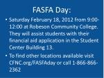 fasfa day
