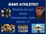 rams athletics