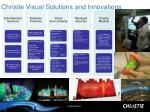 christie visual solutions and innovations