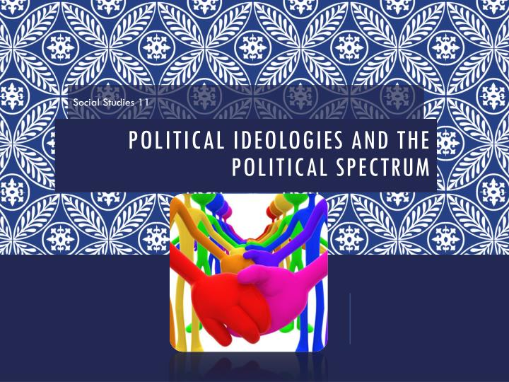 political ideologies and the political spectrum n.